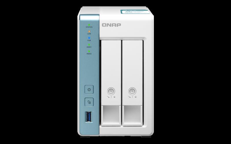 QNAP TS-231K (4core 1, 7GHz / 1GB RAM DD3 / 2x SATA / 2x GbE / 3x USB 3.2 Gen1 / Snímky - Snapshots)