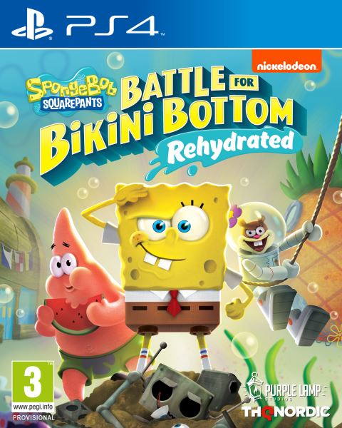 PS4 - Spongebob SquarePants: Battle for Bikini Bottom - Rehydrated