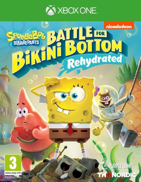 XONE - Spongebob SquarePants: Battle for Bikini Bottom - Rehydrated