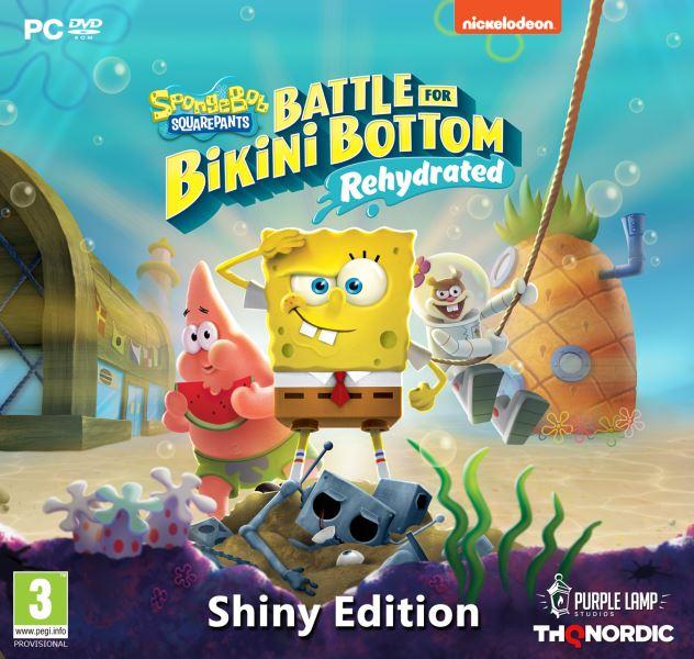 PC - Spongebob SquarePants: Battle for Bikini Bottom - Rehydrated Shiny Edition