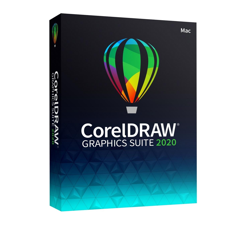 CorelDRAW Graphics Suite 2020 Single User Business License (MAC)