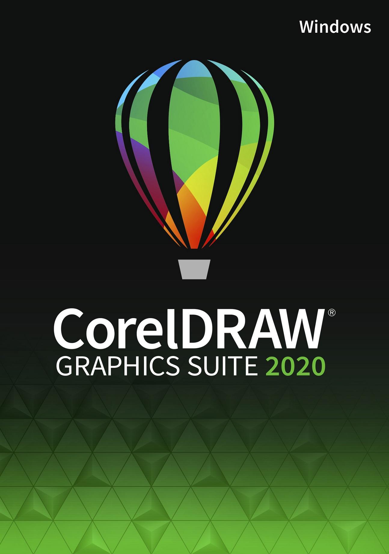 CorelDRAW Graphics Suite 2020 Education License (Windows) (Single User)