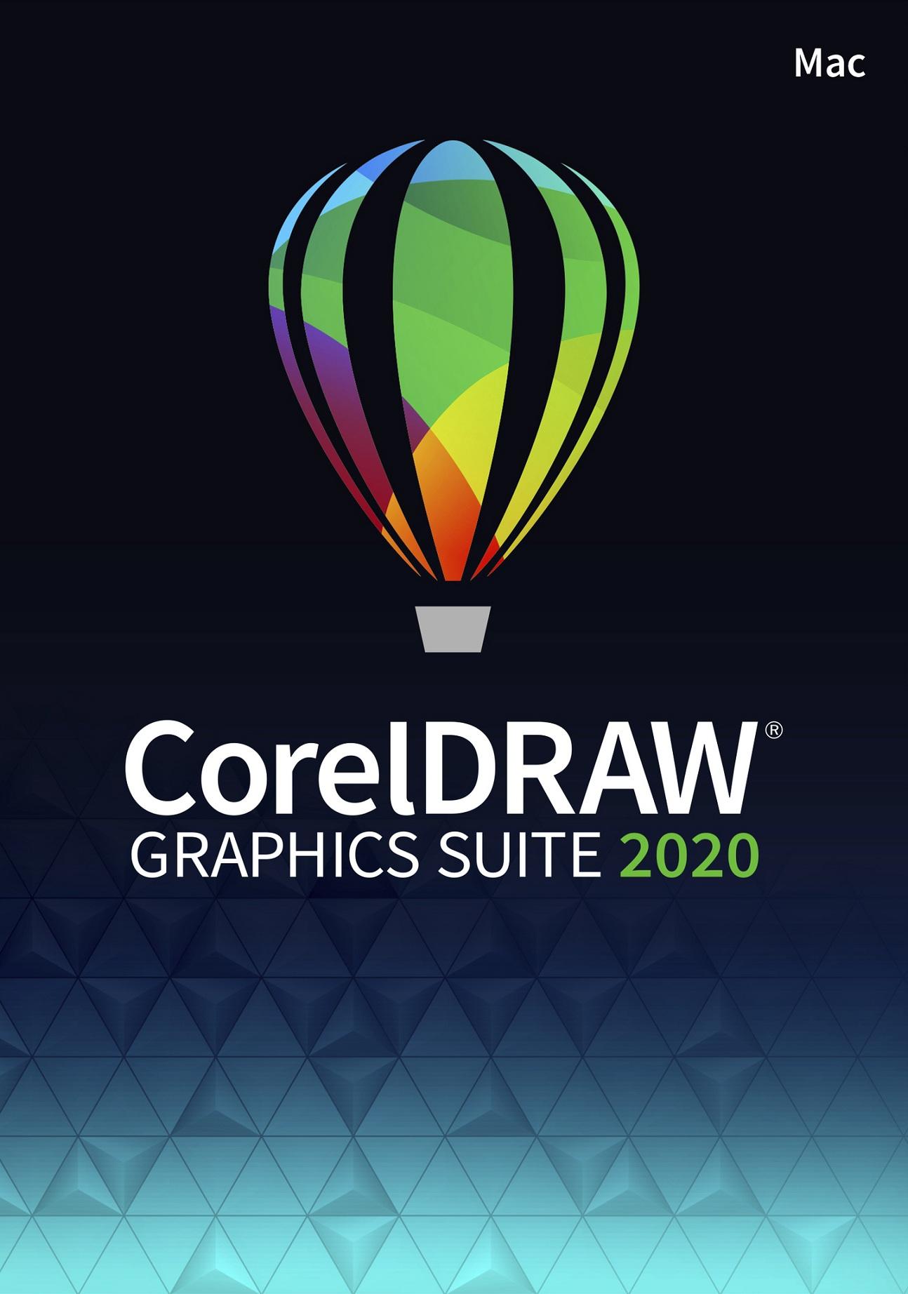 CorelDRAW Graphics Suite 2020 Education License (MAC) (5-50)