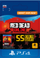 ESD SK PS4 - Red Dead Online: 55 Gold Bars