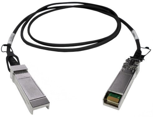 SFP+ 10GbE twinaxial direct attach cable, 1.5M, S/ N and FW update