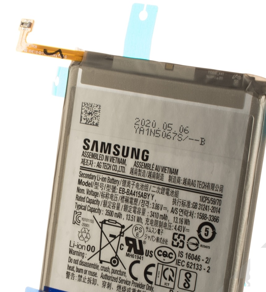 Samsung Baterie EB-BA415ABY Li-Ion 3500mAh (Service Pack)