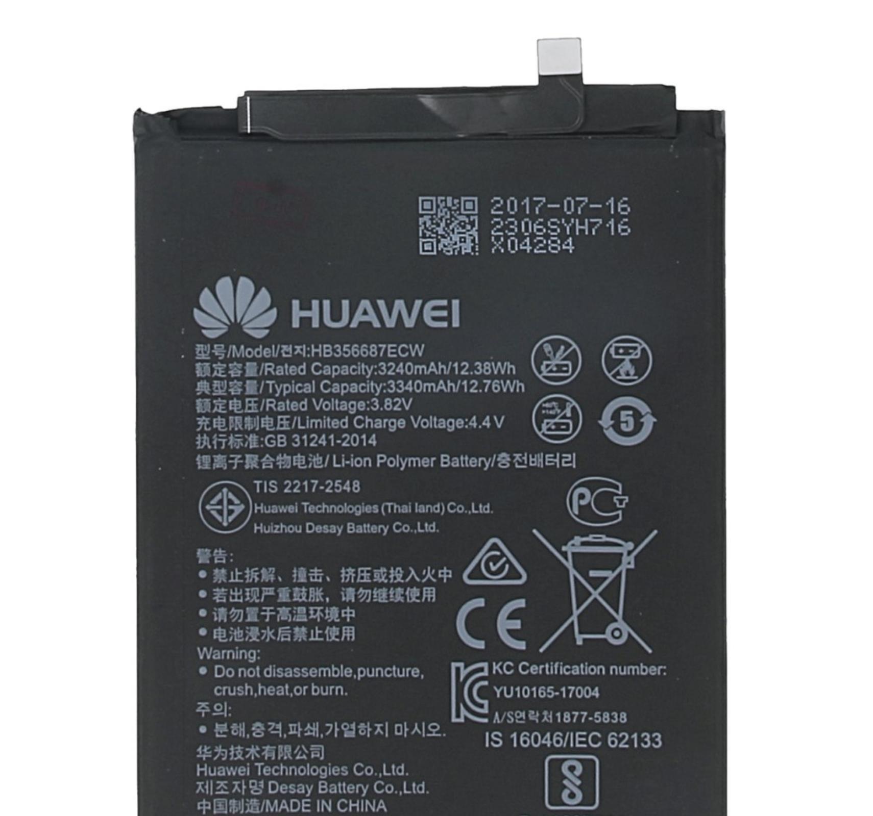 Huawei HB356687ECW Baterie 3340mAh Li-Pol (Service Pack)