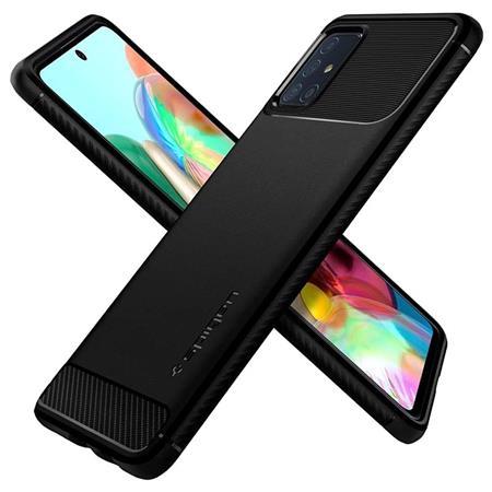 Ochranný kryt Spigen Rugged Armor pro Samsung Galaxy A71 černý