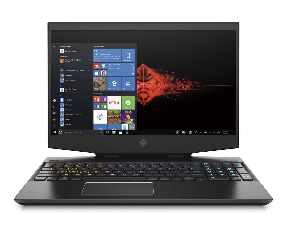 HP OMEN by HP 15-dh1001nc i7-10750H/ 32/ 1+512/