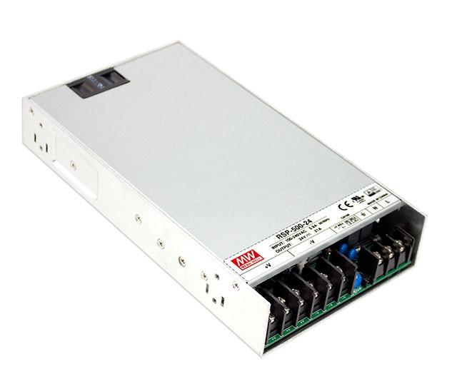 MEANWELL RSP-320-27 Průmyslový napájecí spínaný zdroj uzavřený 27V (320W)