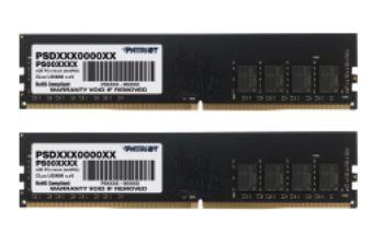 16GB DDR4-3200MHz Patriot CL22, kit 2x8GB
