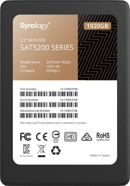 "Synology 2.5"" SATA SSD SAT5200 - SAT5200-1920G"