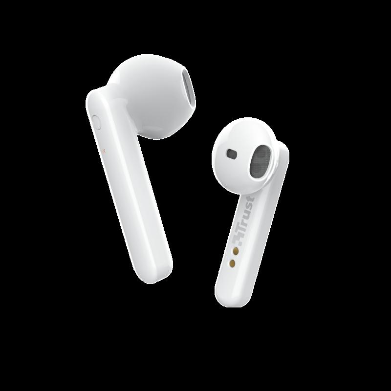 TRUST PRIMO TOUCH BT EARPHONES WHITE