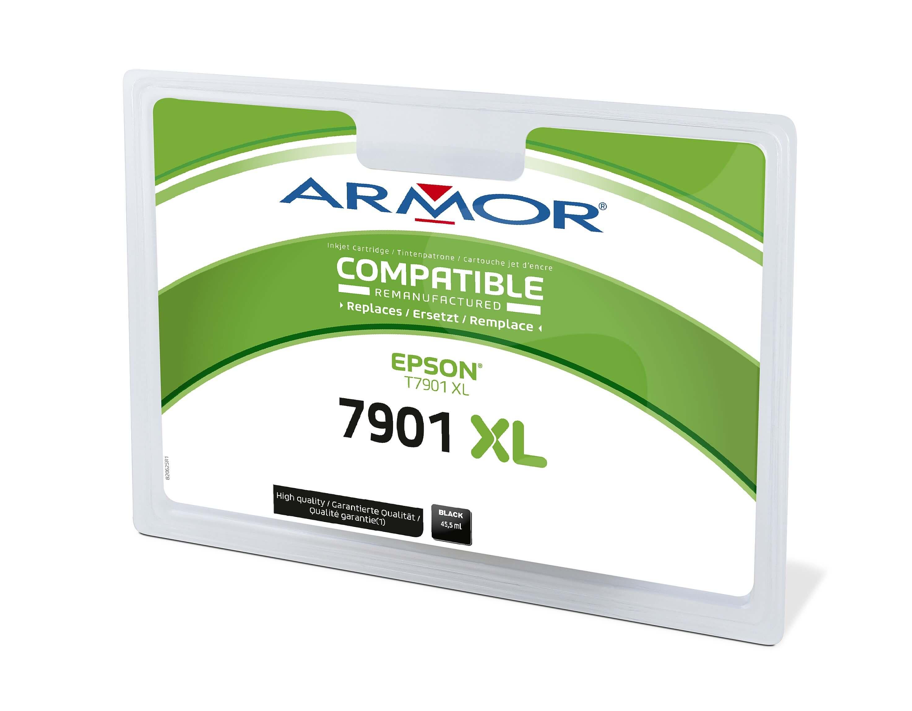 Armor ink-jet pro EPSON C13T79014010, černá/ black