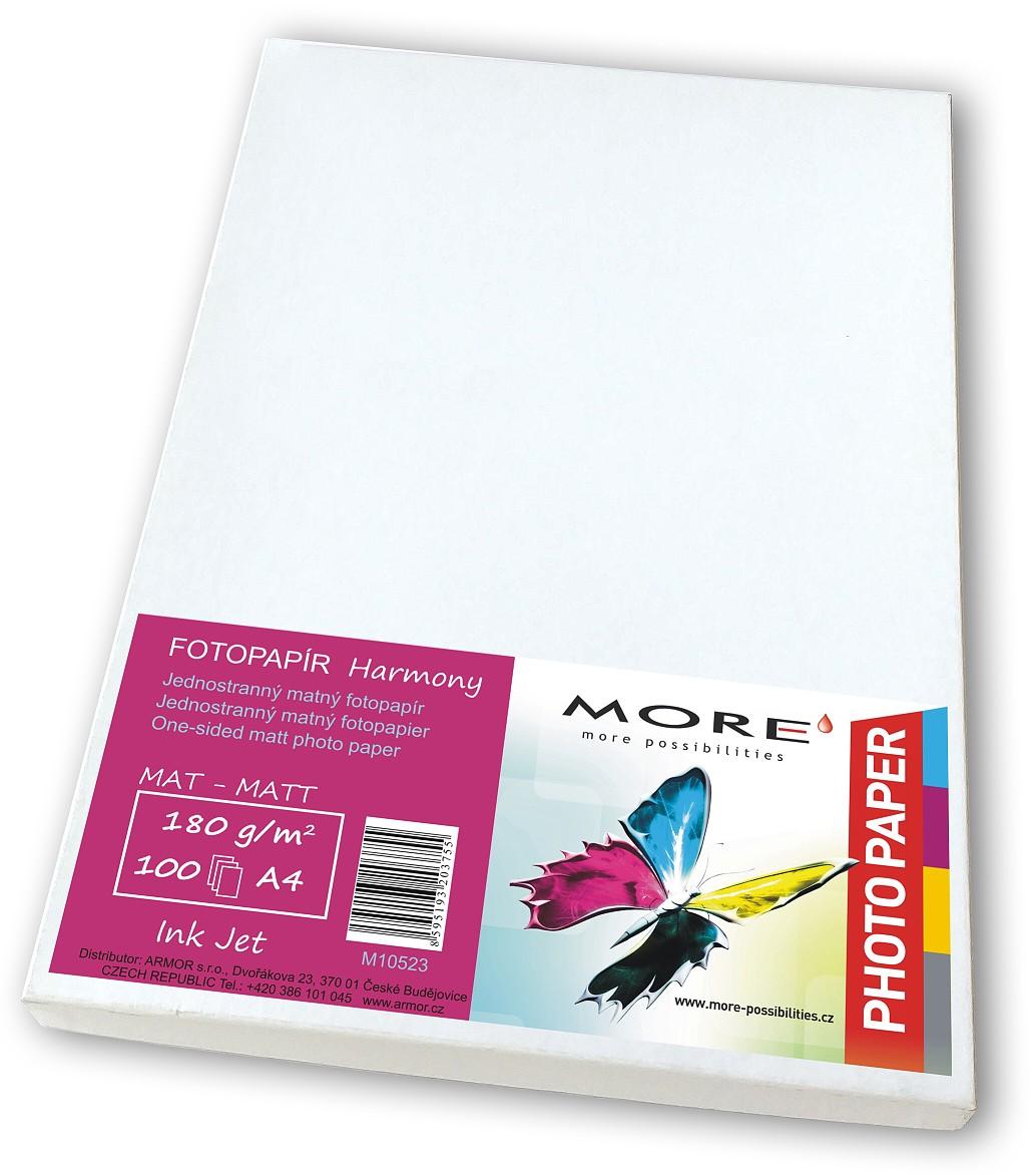 Fotopapír 100 list, 170g/ m2, matt, 1str, Ink Jet