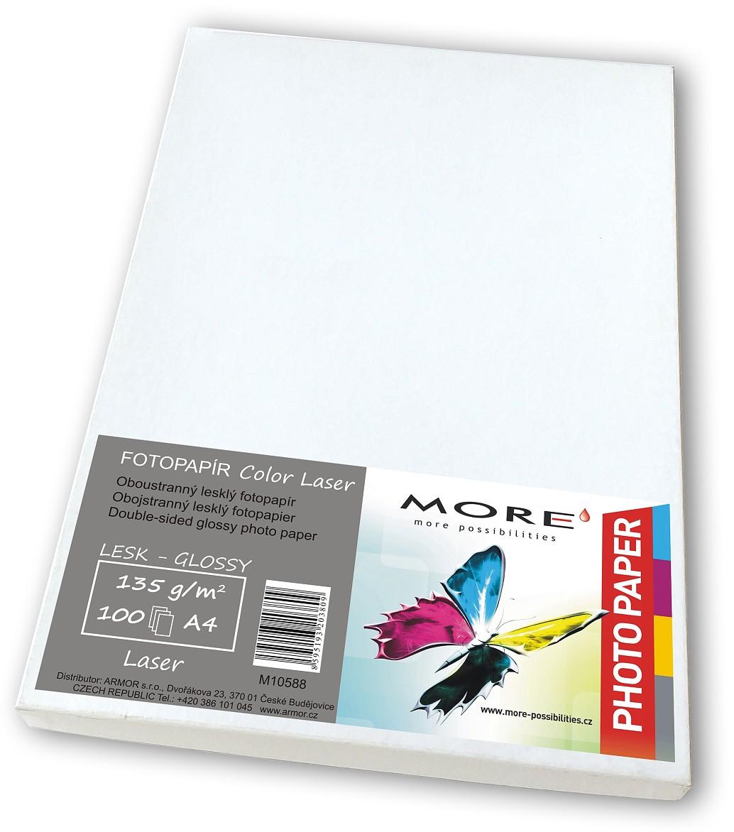 Hlazený Color Laser 100 listů, 135g/ m2, oboustranný