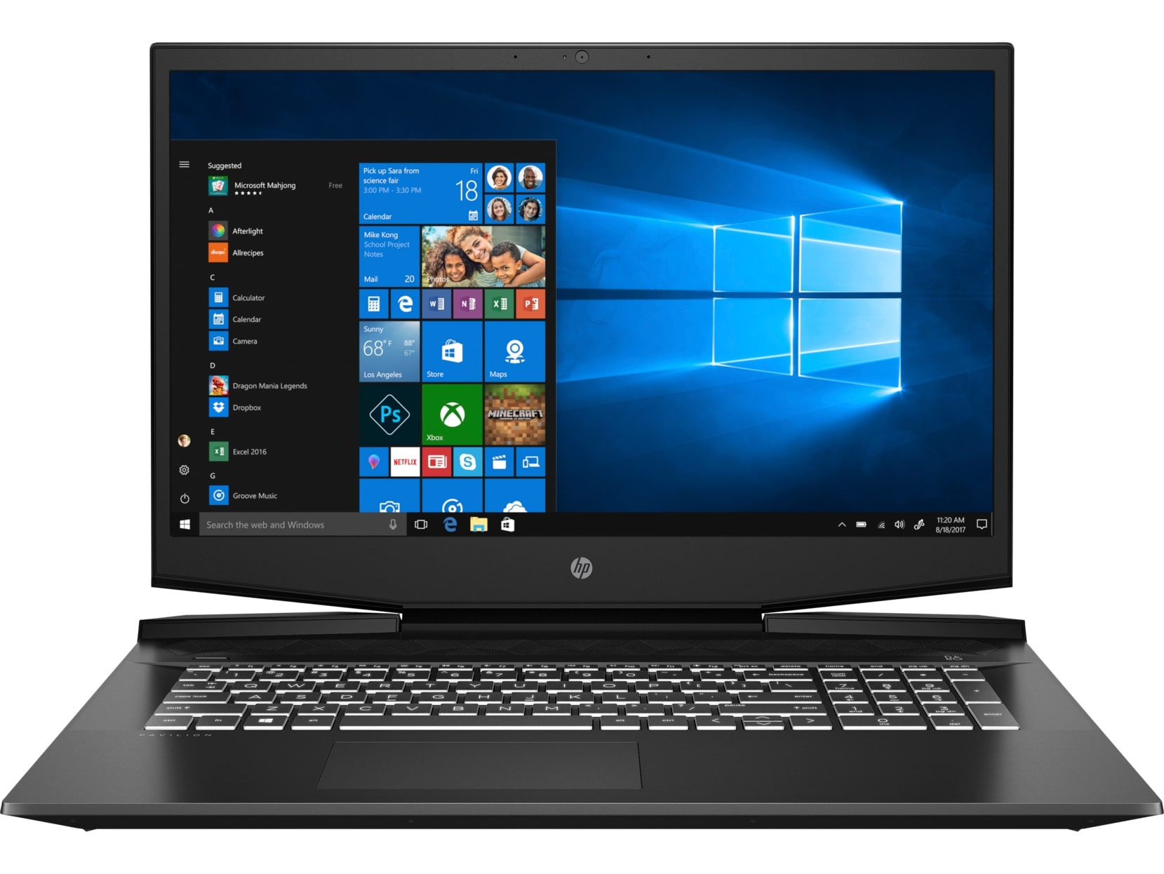 HP Pavil Gaming 17-cd1004nc i7-10750H/ 16/ 1+512/ NV/