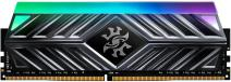 16GB DDR4-3000Hz ADATA D41 RGB CL16, 2x8GB černá
