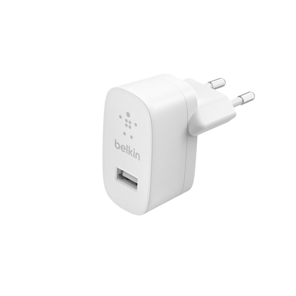 BELKIN USB-A nabíječka, 12W, bílá