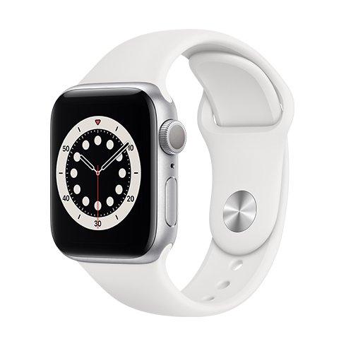Watch S6, 40mm, Silver/ White SportB