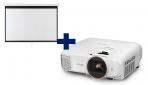 3LCD Epson EH-TW5820, FullHD, 2700 Ansi + plátno Aveli 200 x 125
