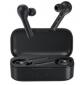 QCY - T5, zcela bezdrátová špuntová sluchátka s dobíjecím uzavíratelným boxem, černá
