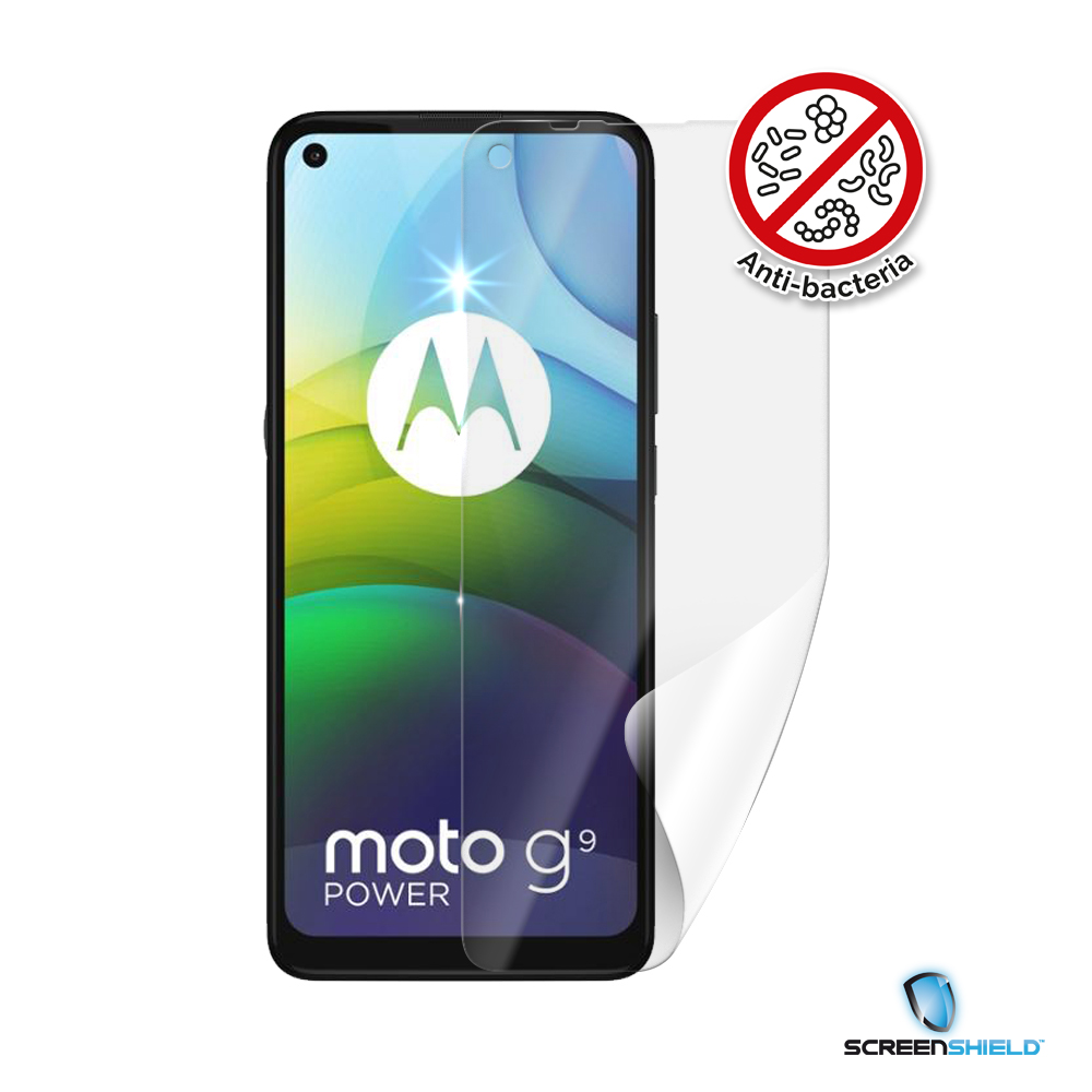 Screenshield Anti-Bacteria MOTOROLA Moto G9 Power XT2091 folie na displej