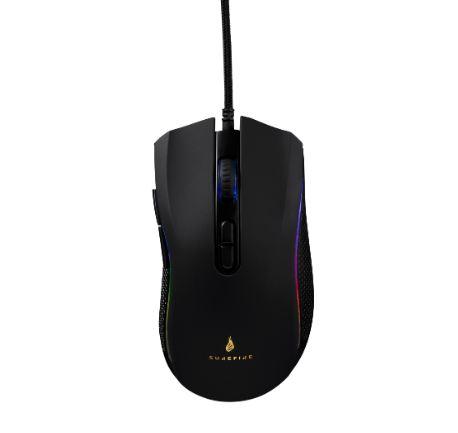 SUREFIRE Hawk Claw Gaming myš s RGB