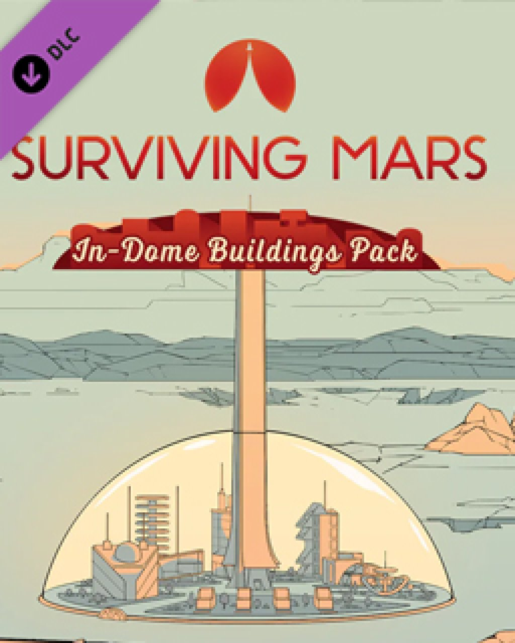 ESD Surviving Mars In Dome Buildings Pack