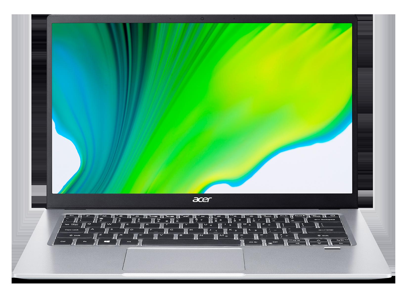 """Acer Swift 1 - 14""""/ N6000/ 8G/ 256SSD NVMe/ IPS FHD/ W10 stříbrný"""
