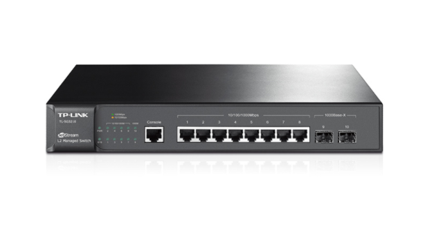 TP-Link TL-SG3210 8xGb L2+ 2xSFP managed switch
