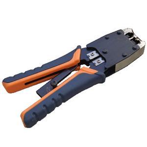 DATACOM Konektor. nástroj PROFI 6P+8P račna-rukojeť OR/ BL