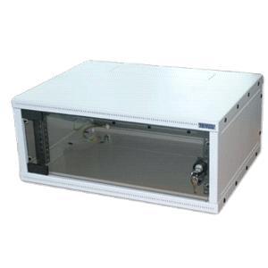 """19""""rozvaděč jednodílný 6U/ 400mm FLAT-PACK skl.dv."""