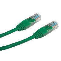 DATACOM patch cord UTP cat5e 0, 25M zelený