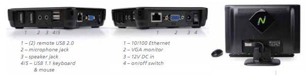 nStation L300 - Windows terminál