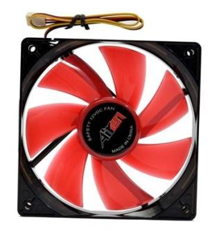 AIREN FAN RedWings120 LED RED