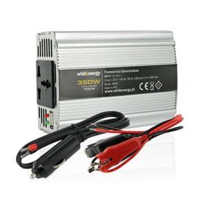WE Měnič napětí DC/ AC 24V / 230V, 350W, USB