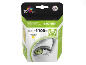 Ink. kazeta TB kompat. s Brother LC1100Y 100% N