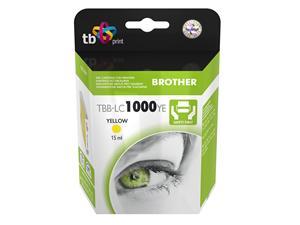 Ink. kazeta TB kompat. s Brother LC1000Y 100% N