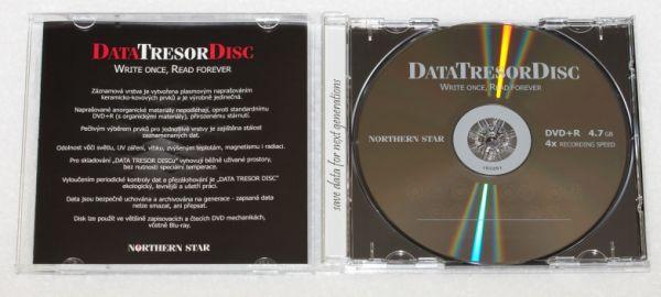 Média DVD+R DTD 160let životnost 4, 7GB 4x, 1ks jb