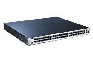 D-Link DGS-3120-48PC/ SI 48port Gbit L2 PoE+4xSFP
