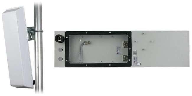 GigaSektor anténa BOX 15dBi/ 120°, 5GHz, N/ F horiz.