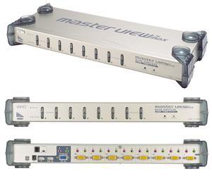 "ATEN 8 port KVM USB/ PS2, audio, OSD, rack 19"""