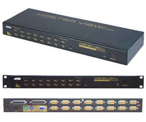 ATEN 16port KVM PS/ 2+USB, OSD, rack 19""