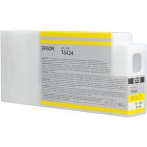 Epson T6424 Yellow Ink Cartridge (150ml)