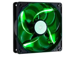 větrák Cooler Master SickleFlow 120x120, long life sleave, 19dBA, green LED