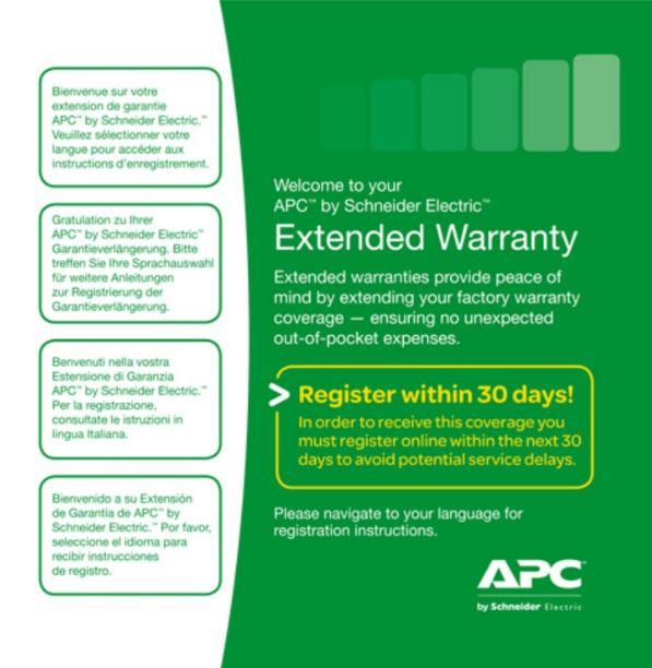 1 Year Extended Warranty, WEXTWAR1YR-SP-08
