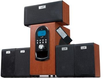 Obrázok produktu Speaker GENIUS SW-HF5.1 6000 200W wood