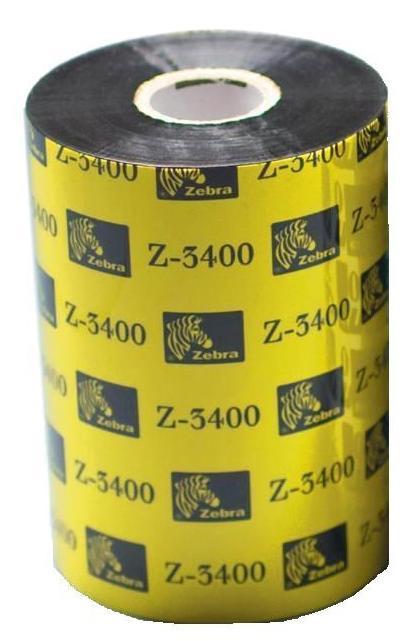 Zebra páska 3400 wax/ resin. šířka 102mm. délka 450