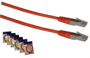 Patch cord FTP cat5e 3M oranžový